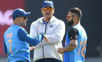 T20 World Cup: BCCI reveals first picture of MS Dhoni as Team India mentor