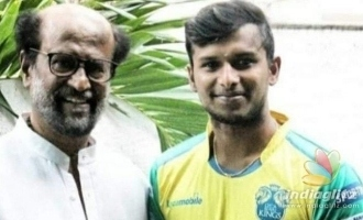 Sensational bowler Natarajan's photo with Superstar Rajnikanth turns viral!