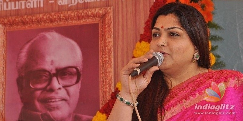 Kushboos emotional message on K Balachander!