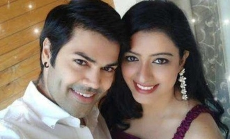 Ganesh Venkatraman explores different types of kisses with wife Nisha in latest video