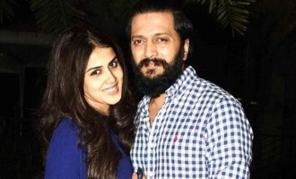 Genelia and her husband fight video goes viral