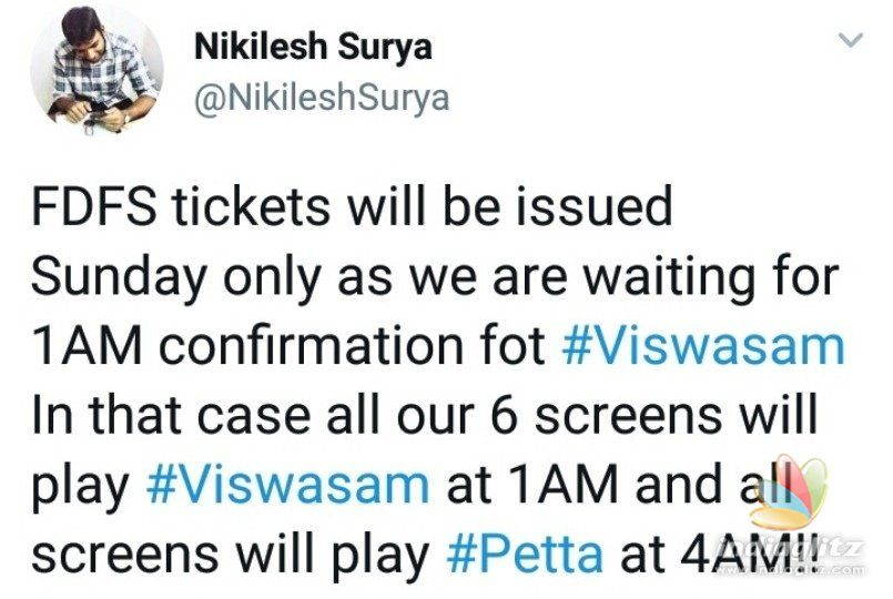Viswasam to come much before Petta?