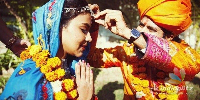 Actress Amala Paul marriage pics leaked?