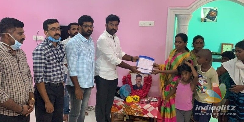 Siva Karthikeyan movie producers huge support to Havildar Palani family!