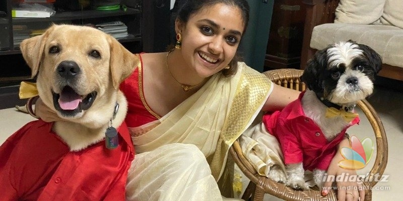 Keerthy Sureshs breathtaking gorgeous Onam special photos stuns netizens!