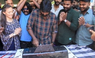 Vijay Sethupathi Birthday Celebration at YOYK Shooting Spot