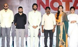 'NOTA' Movie Press Meet