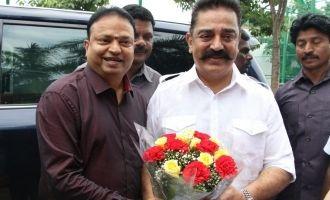 Kamal Haasan at Dr. Isari K Ganesh Birthday Celebration