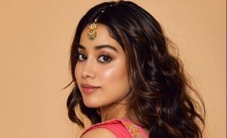 நடிகை ஸ்ரீதேவி மகளின் வேற லெவல் போட்டோ ஷுட்… வைரல்!
