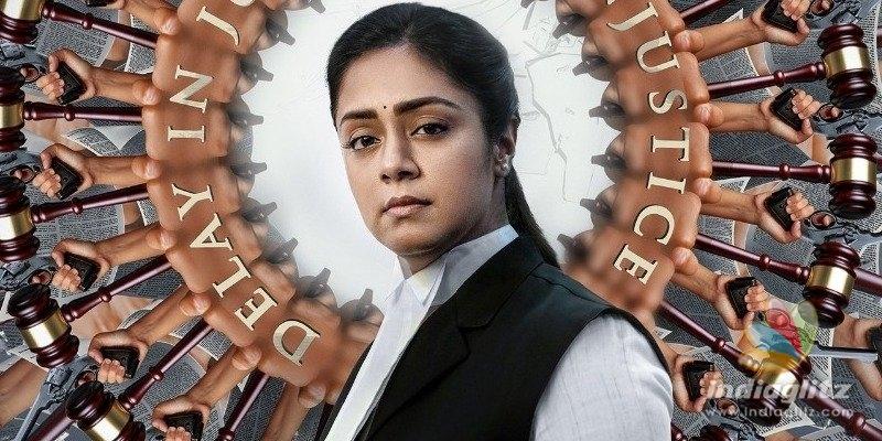 Jyothikas powerful second look in Ponmagal Vandhaal is out