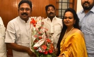 Dance Master Kala joins TTV Dinakaran's AMMK
