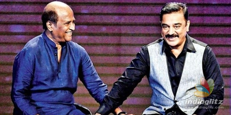 Kamal Haasans birthday wishes to Rajinikanth
