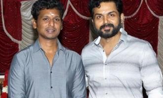 Breaking! Karthi and Lokesh Kanagaraj to reunite