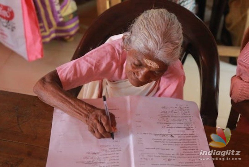 96 year old Indian granny writes exam and surprises everyone!
