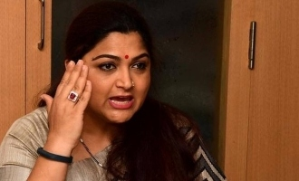 """""""Even a dog won't see your face"""" Khushbu blasts at abusive tweet!"""