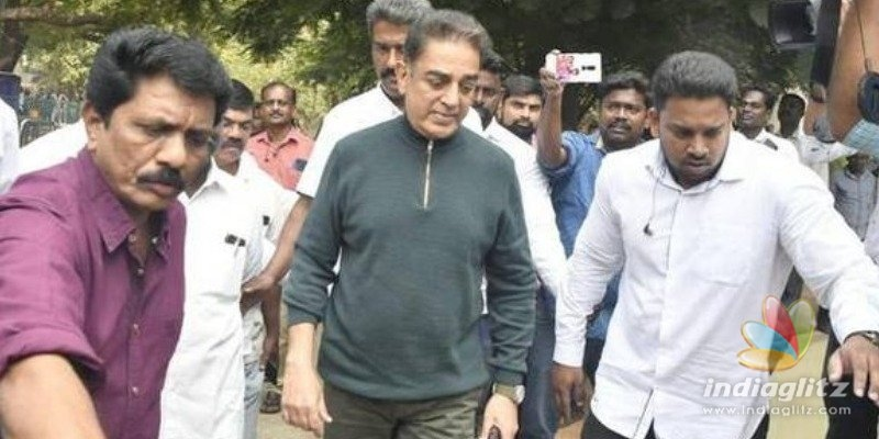 Kamal shares details about police inquiry today regarding Indian 2 accident