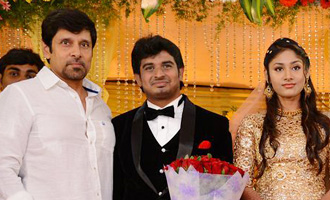 Celebs @ Mansoor Ali Khan Daughter Reception