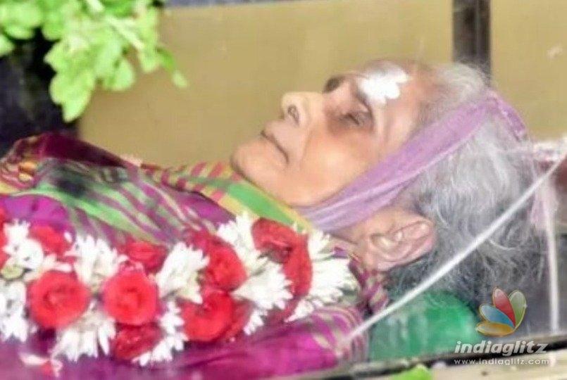 S.P. Balasubramaniam s mother passes away