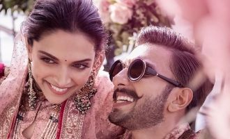 Deepika Padukone and Raveer's Mehendi Ceremony at Lake Como
