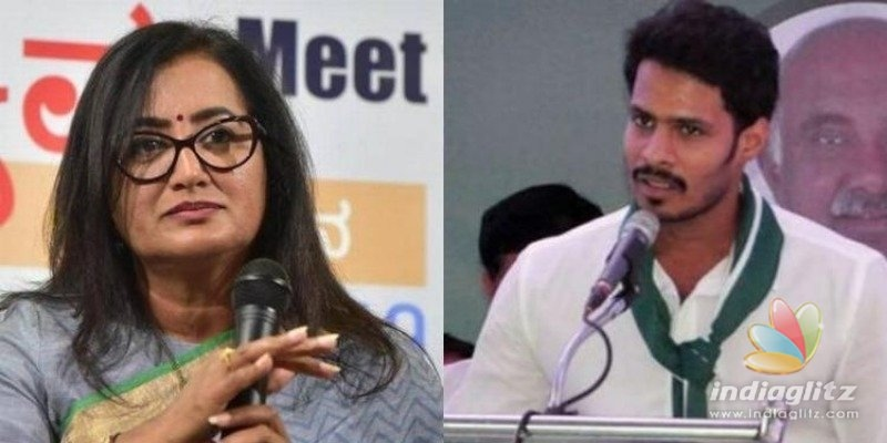 Veteran actress Sumalatha wins against Chief Ministers son