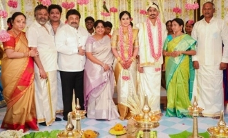 Director P. Vasu's daughter Abhirami gets married - Kollywood stars attend in person