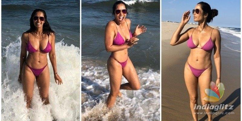 Padma Lakshmis bikini photos from birthday celebration turn viral!