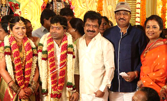 Actor Pandiarajan Son Wedding