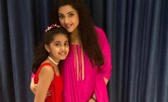 Meena and Nainika's lovely photos from Sneha's daughter birthday party viral!