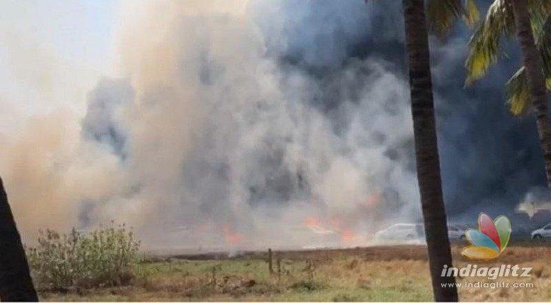 Porur fire: 150 cars destroyed