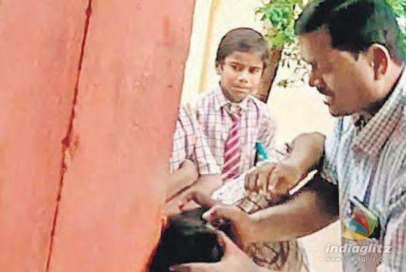 School principal mercilessly thrashes students after removing clothes
