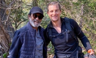 Superstar Rajinikanth's awesome message to Man vs Wild, Bear Grylls