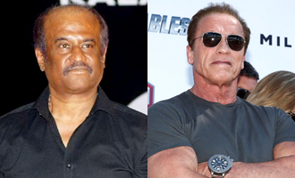 Rajinikanth fulfills the wish of Arnold for 'I'