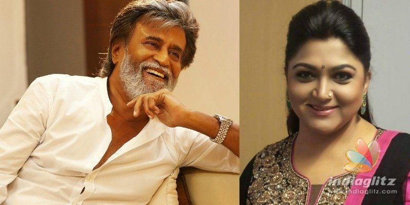 Khushbu apologizises for mistakng about Superstar Rajinikanth