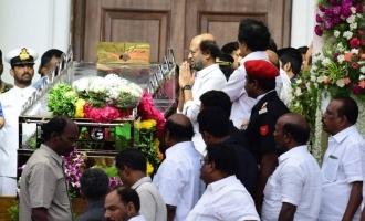 Last Respect to Dr.Kalaignar Karunanidhi