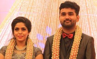 Celebs at Ramesh Kanna's Son Wedding Reception