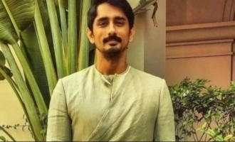 Siddharth refuses police protection for the sake of society - Netizens laud him