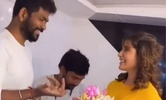 Samantha trolls Vignesh Shivan video goes viral