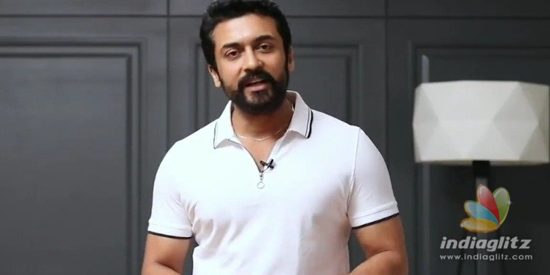 Suriya tells people to Stay home and stay safe!