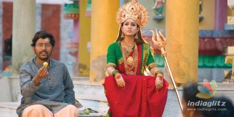 RJ Balaji reveals the story of Nayantharas Mookuthi Amman!