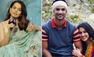 """Sushant and Sara Ali Khan even shared room"" - Kangana Ranaut's shocking claim!"