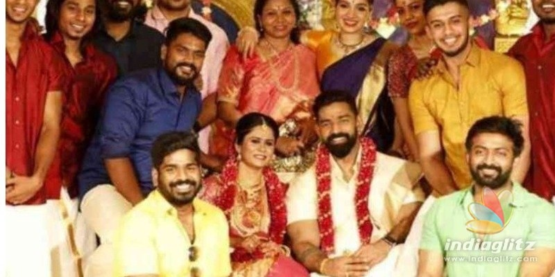 Jayam Ravis villain gets married during lockdown!