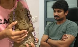 Udhayanidhi Stalin's clarification after sharing Ganesh idol photo!