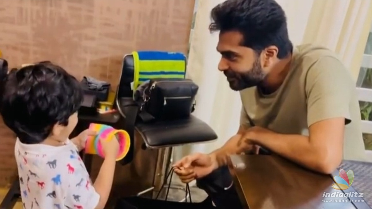 Simbus cute video with his nephew turns viral!