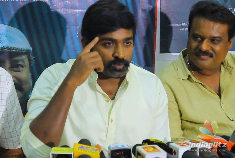 Vijay Sethupathis angry reply about voting