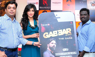 Shruthi Haasan launches 'Gabbar is Back' Game