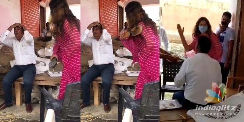 Shocking video of Tik Tok star Sonali Phogat humiliating a man goes viral
