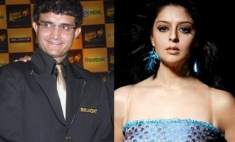 Actress Nagma's strong message to alleged ex-boyfriend Sourav Ganguly