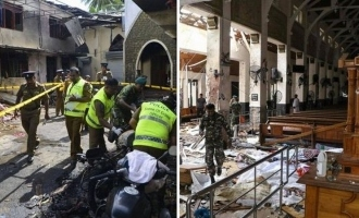 Breaking: Another blast in Sri Lanka now