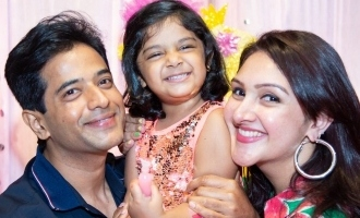 Sridevi Vijaykumar Rahul's Daughter Rupikaa 3rd Birthday Celebrathions