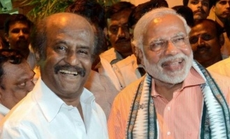 Rajinikanth invite for Modi PM sworn function